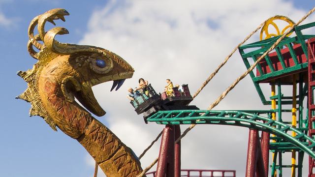 Cobra's Curse, Busch Gardens. (Divulgação)
