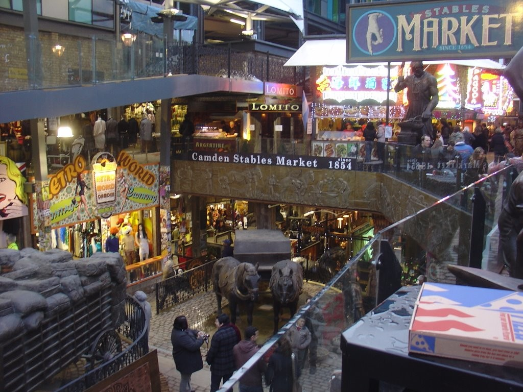 Camden - The Stables Market