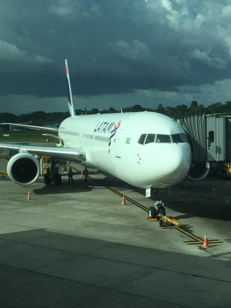 Aeronave partiu hoje às 16h30, horário de Brasília.