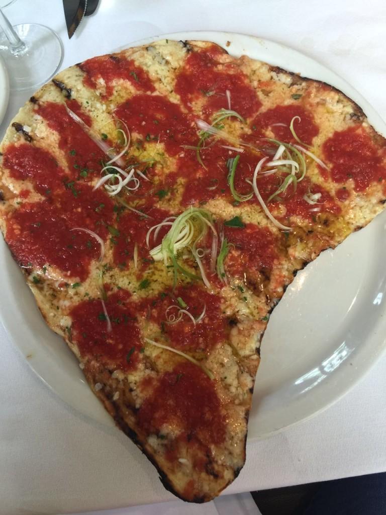 Al forno Grilled Margarita Pizza