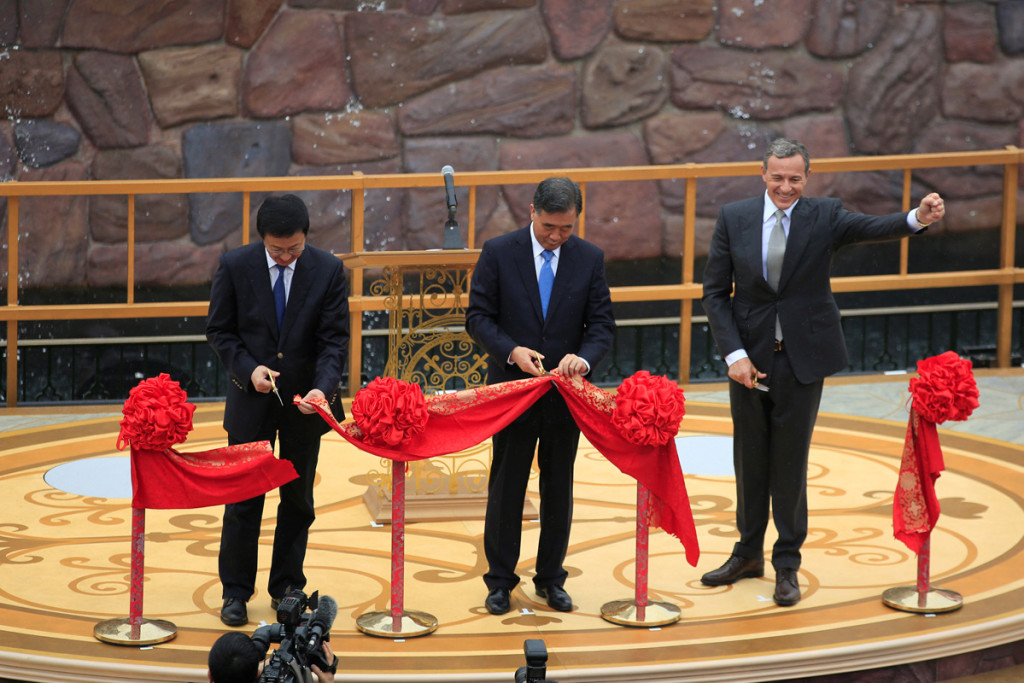 Inauguração do Disney Resort em Shanghai, China. (Foto: REUTERS/Aly Song)