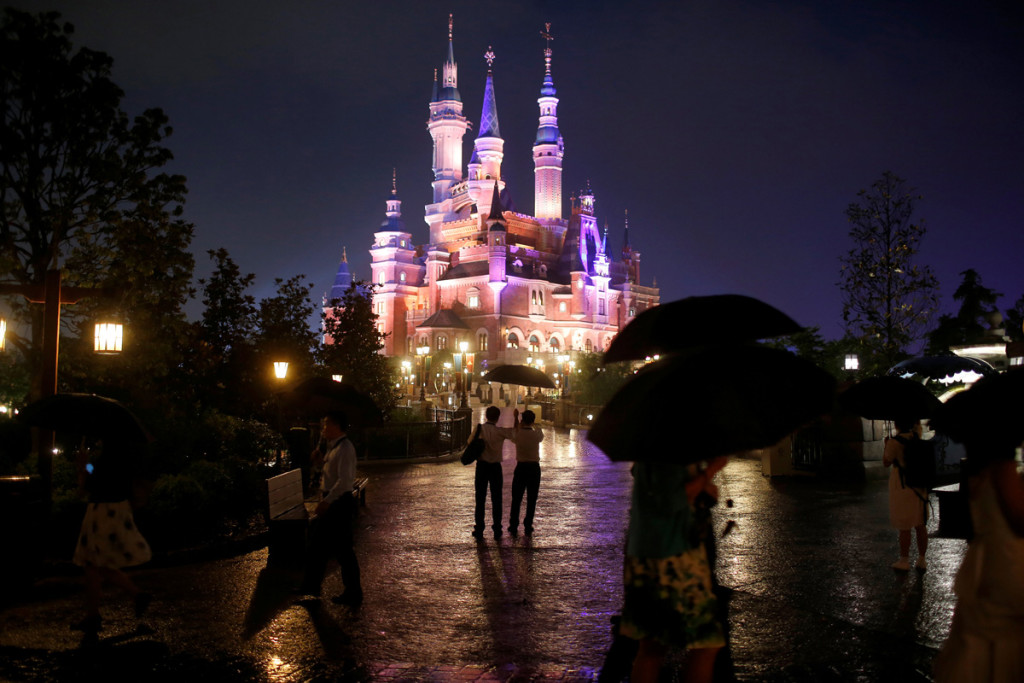Shanghai Disney Resorts. (Foto: REUTERS/Aly Song)