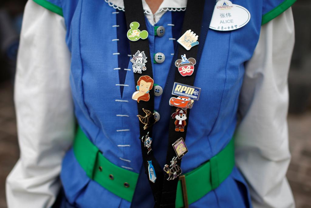 Cast member Disney em Shanghai. (Foto: REUTERS/Aly Song)