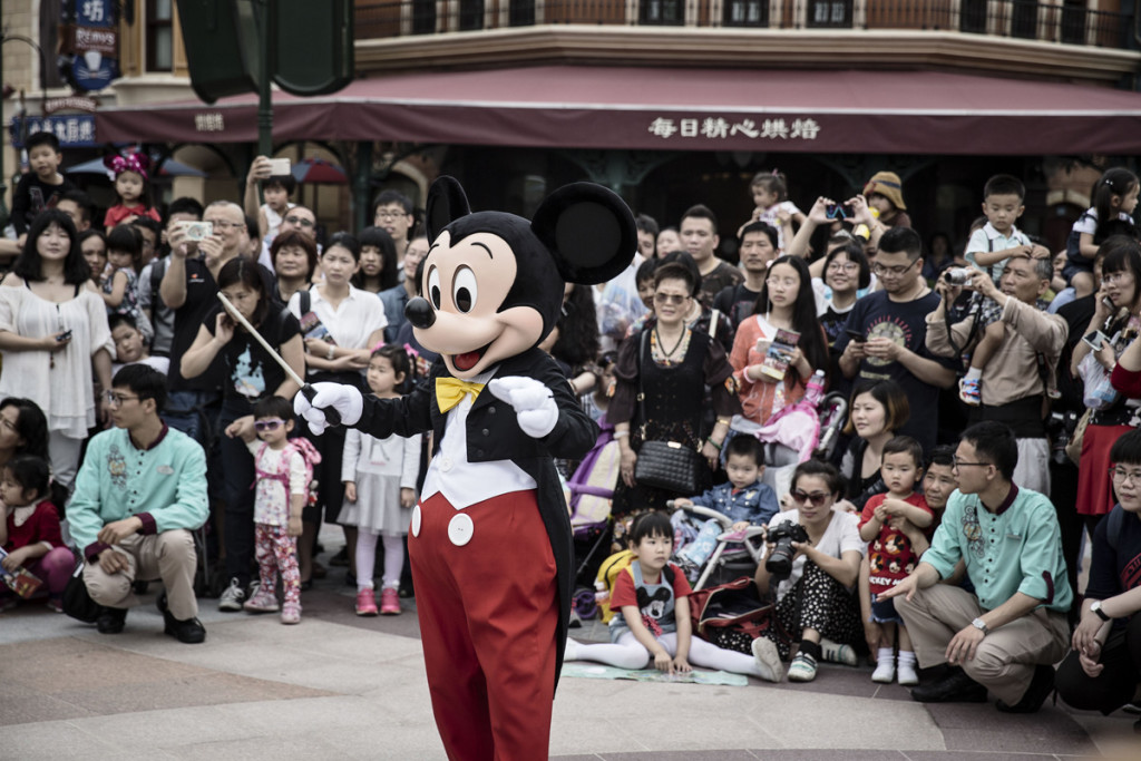 Mickey Mouse. (Foto: Qilai Shen/Bloomberg)