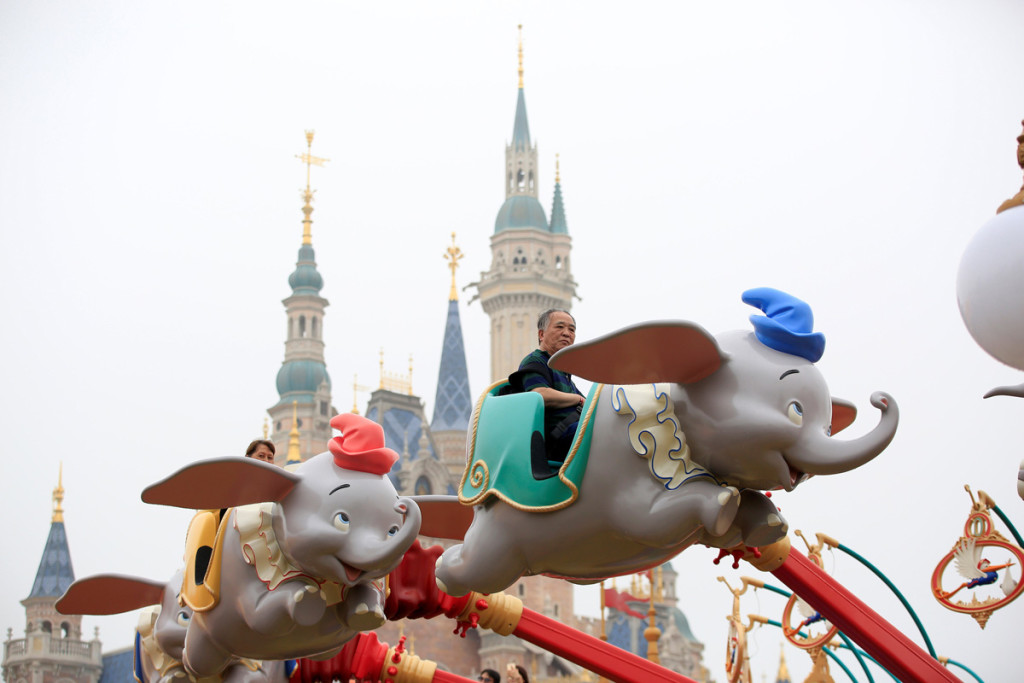 Disney Resort, Shanghai. (Foto: REUTERS/Aly Song)