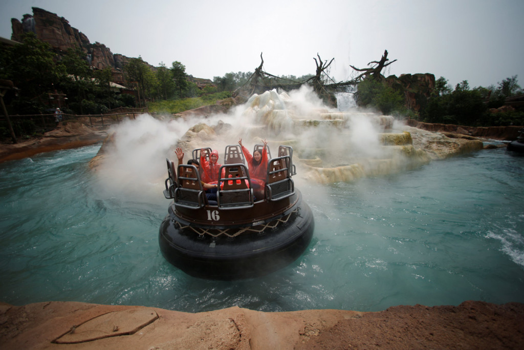Disney Resort em Shanghai, China. (Foto: REUTERS/Aly Song)
