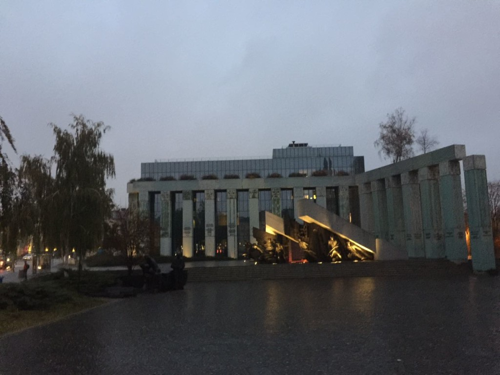 Monumento do Levante de Varsóvia.