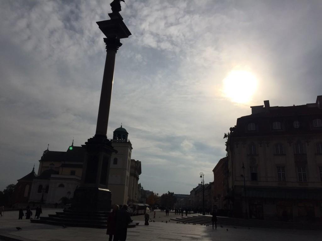 Coluna de Sigismundo, Varsóvia.