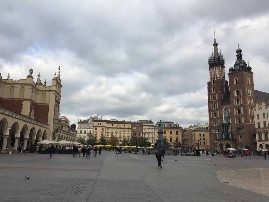 Stare Miasto, centro histórico de Cracóvia.