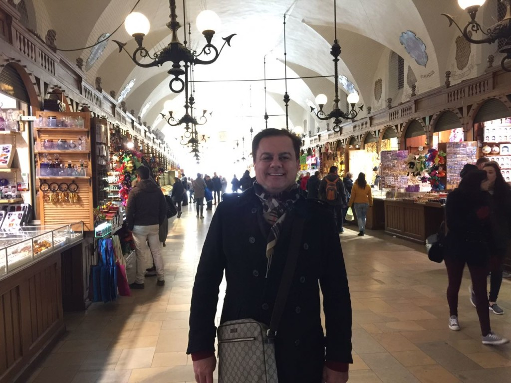 Mercado Central, Cracóvia.