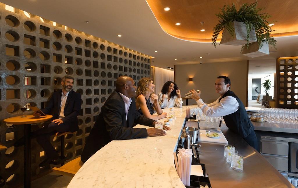 Star Alliance Lounge no Rio de Janeiro. (Foto: Divulgação/Star Alliance)
