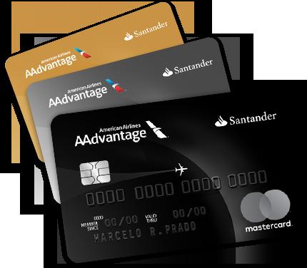 Santander / AAdvantage Gold, Platinum e Black. (Reprodução)