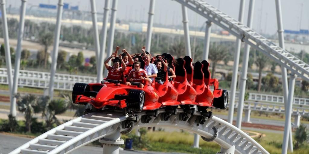 Ferrari Land, PortAventura World Parks & Resort. (Divulgação)