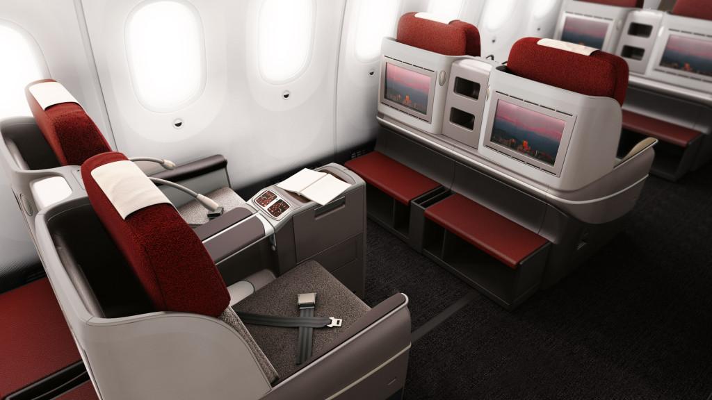 Com o Opção Upgrade você faz a sua oferta de quanto quer pagar para viajar em uma cabine superior. (LATAM/Divulgação)
