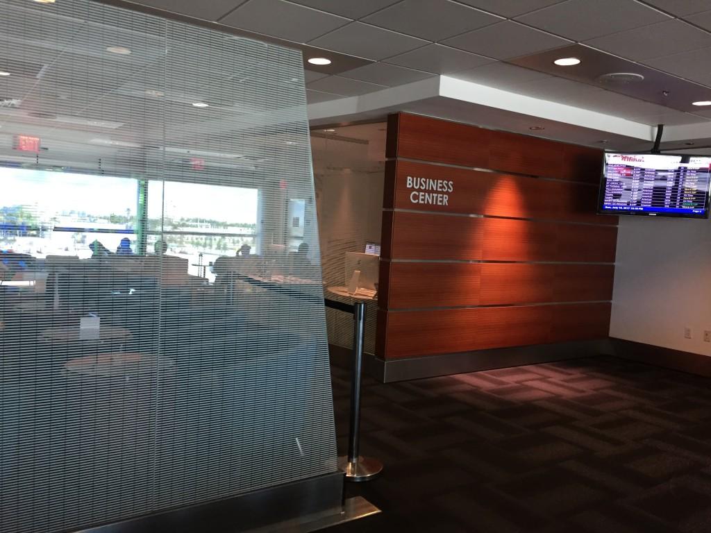Sala VIP LATAM do Aeroporto de Miami. (Foto: Travel4All)